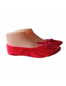 PANTUFLA FLAT RED