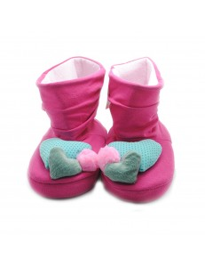 PANTUFLA BOTA THREE HEART