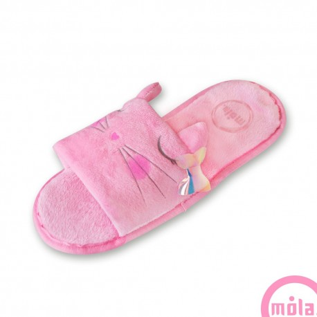 PANTUFLAS SANDALIA KITTY